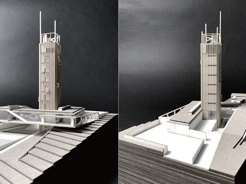 Student architectural model