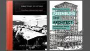 Book covers for Drafting Culture: A Social History of Architectural Graphic Standards and Assembling the Architect: The History and Theory of Professional Practice by George Barnett Johnston